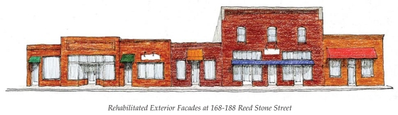 Bassett - Reed Stone Street Storefront standalone conceptual