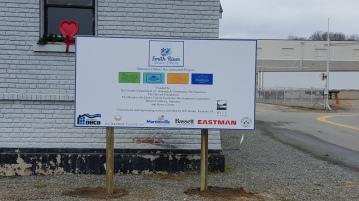 Bassett Installed Sign 2-9-16